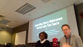 "Thumbnail for entry MSU Brown Bag | ""Integrating Library Makerspace Services into Your Course."" Jan. 29, 2016"