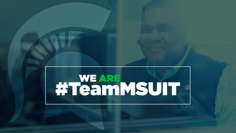 Thumbnail for entry We are MSU IT