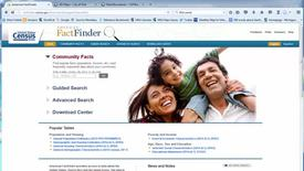 Thumbnail for entry Using American Factfinder to retrieve census data for City of Flint