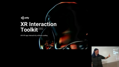 Thumbnail for entry Joy Horvath Presents Unity for Education and No-Code VR Dev at MSU XR Symposium 2020