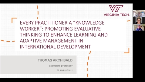 """Thumbnail for entry Every Practitioner a """"Knowledge Worker"""""""