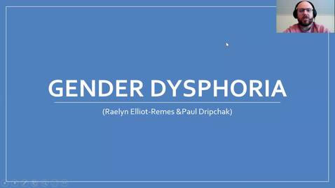 Thumbnail for entry SW 843 - Gender Dysphoria