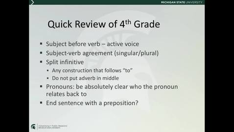 Thumbnail for entry ADV225Session2LectureVideo4_EnglishGrammar2of2