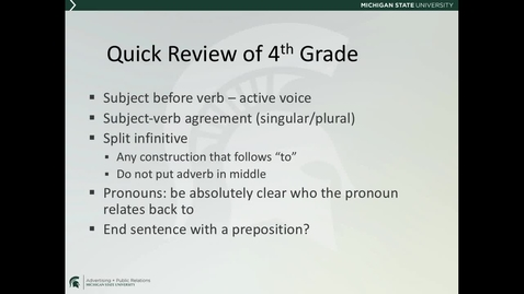 Thumbnail for entry *ADV225Session2LectureVideo4_EnglishGrammar2of2