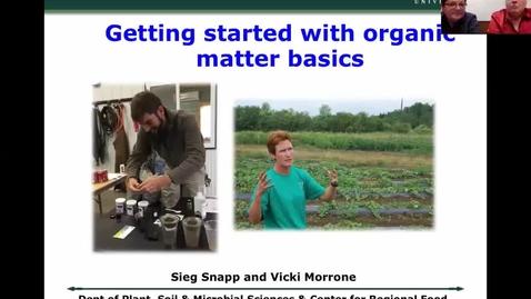 Thumbnail for entry Organic matter basics  Feb 14 2018