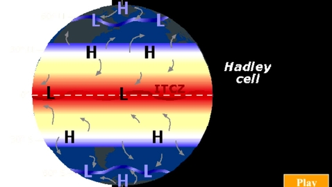 Thumbnail for entry Generalized Hadley cell circulation in the northern hemisphere.