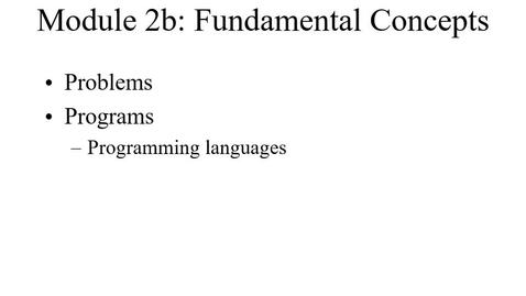 Thumbnail for entry Module02b-Problems-Programs