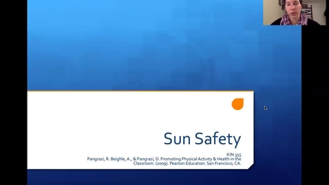 Thumbnail for entry KIN 355 004 Sun Safety