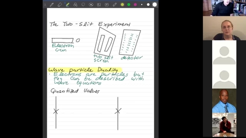 Thumbnail for entry INSIGHT Physics Immersion Week Day 2 Video 1