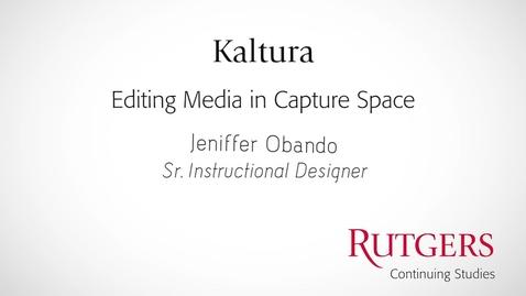 Thumbnail for entry EditingMediaInCaptureSpace