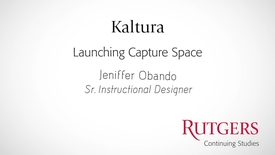 Thumbnail for entry LaunchingCaptureSpace_Sakai