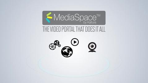 Thumbnail for entry Kaltura MediaSpace