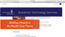 Thumbnail for entry Snap Theme: Building a Module