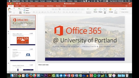 Thumbnail for entry Creating a Hand Out in Powerpoint 2016 for Mac
