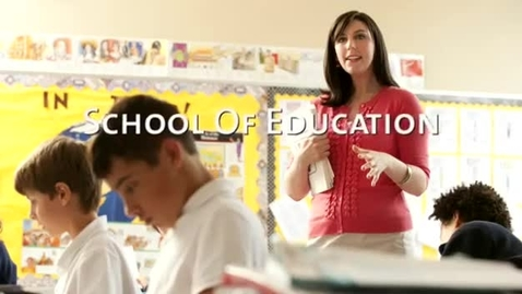 Thumbnail for entry University of Portland School of Education Deans Message 2011
