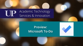 Thumbnail for entry Preview: Microsoft To-Do