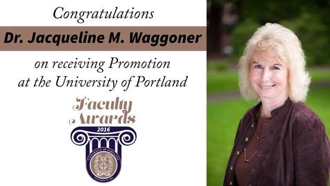 Thumbnail for entry Dr. Jacqueline M. Waggoner.mp4