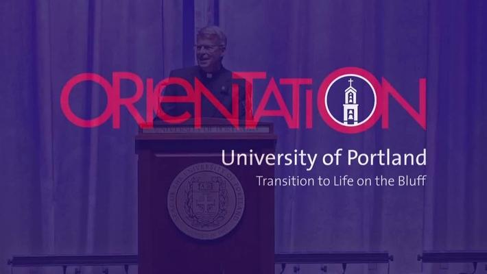 University of Portland President's Welcome-Orientation 2015