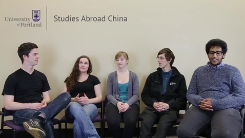 Thumbnail for entry Studies Abroad China