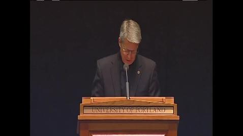 Thumbnail for entry Rev. Mark Poorman, C.S.C., Orientation Speech 2014