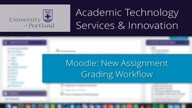 Thumbnail for entry Moodle: New In-Browser Grading