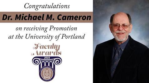 Dr. Michael M. Cameron.mp4