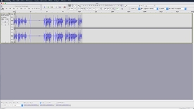 Thumbnail for entry Audacity on Mac - Controls & Basic Editing