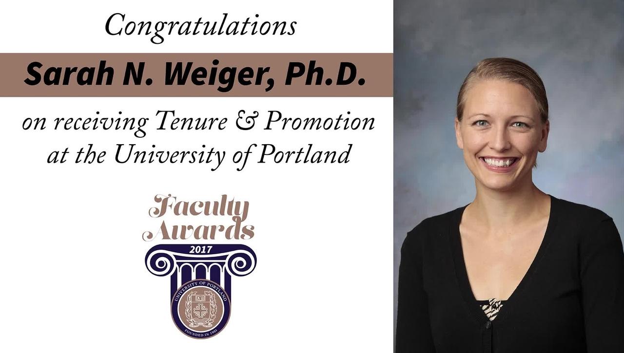 Sarah N. Weiger, Ph.D.