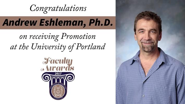 Andrew Eshleman, Ph.D.