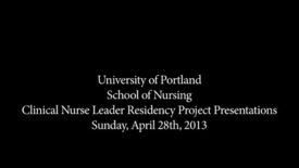Thumbnail for entry CNL Student Residency Presentation - Schafer