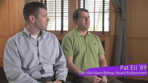 Thumbnail for entry University of Portland - The Villa Maria Bishop Award Endowment