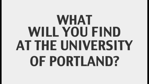 Thumbnail for entry Student Life at University of Portland