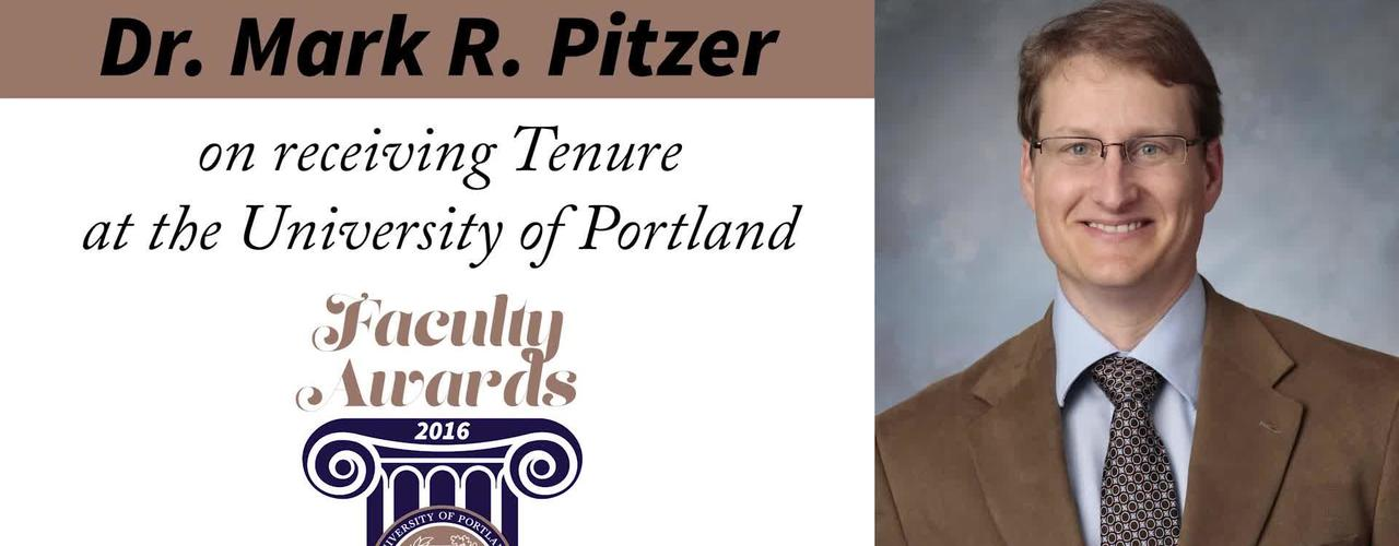 Dr. Mark R. Pitzer