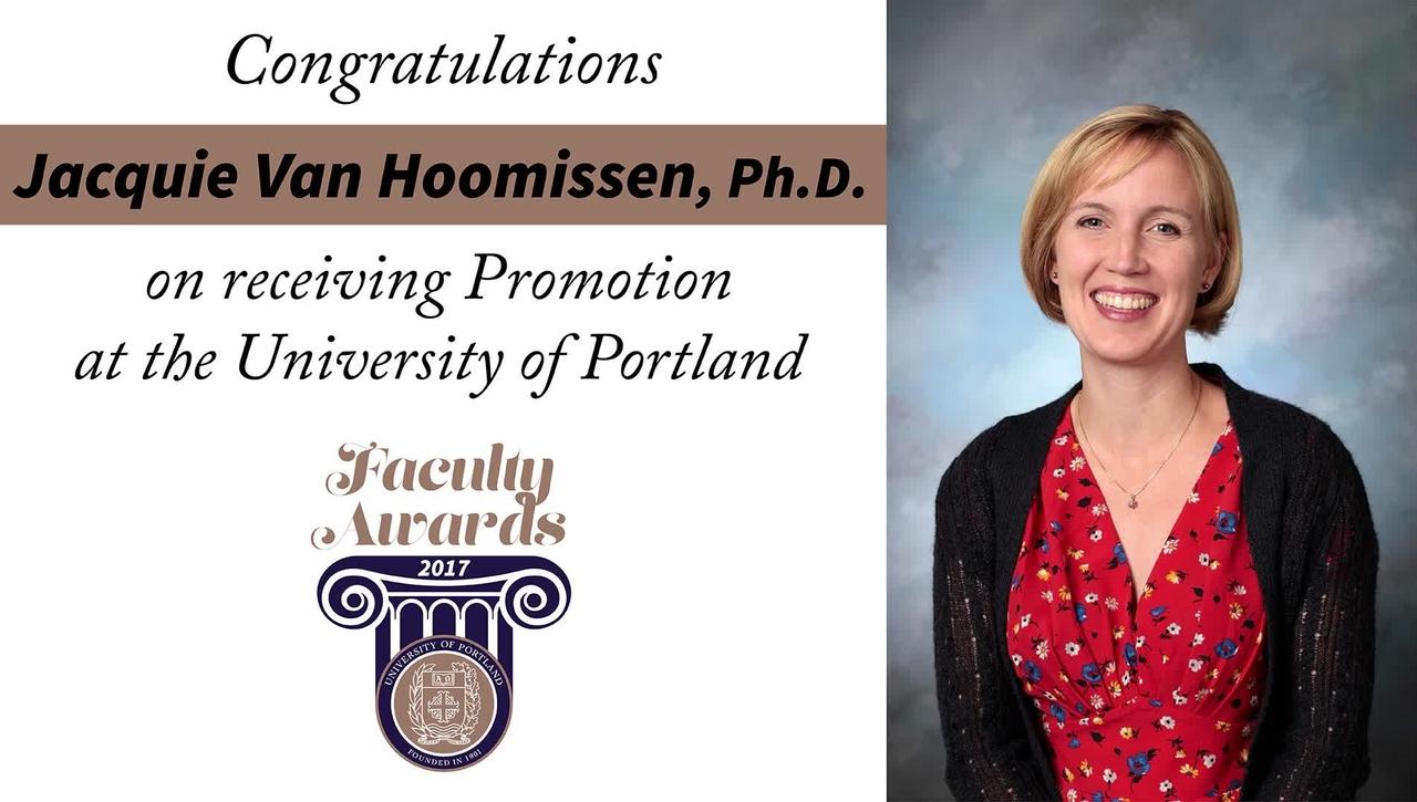 Jacquie Van Hoomissen, Ph.D.