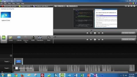 Thumbnail for entry Camtasia Studio 8 - Export