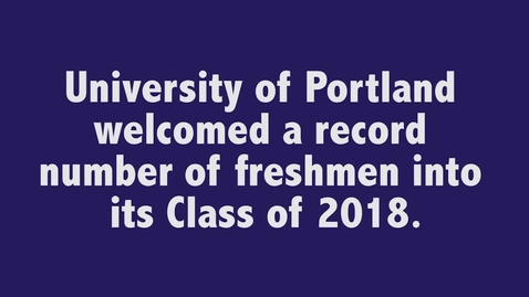 Thumbnail for entry Listen to Your Parents University of Portland Class of 2018
