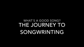 Thumbnail for entry What is a Good song?