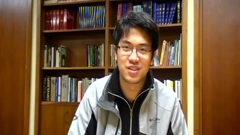 Thumbnail for entry Xavier Tong Lenten Reflection- March 6, 2015