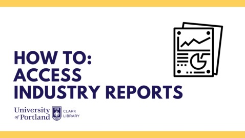 Thumbnail for entry Industry Reports