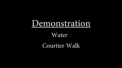 Thumbnail for entry Water Courtier Walk Demonstration-.mp4