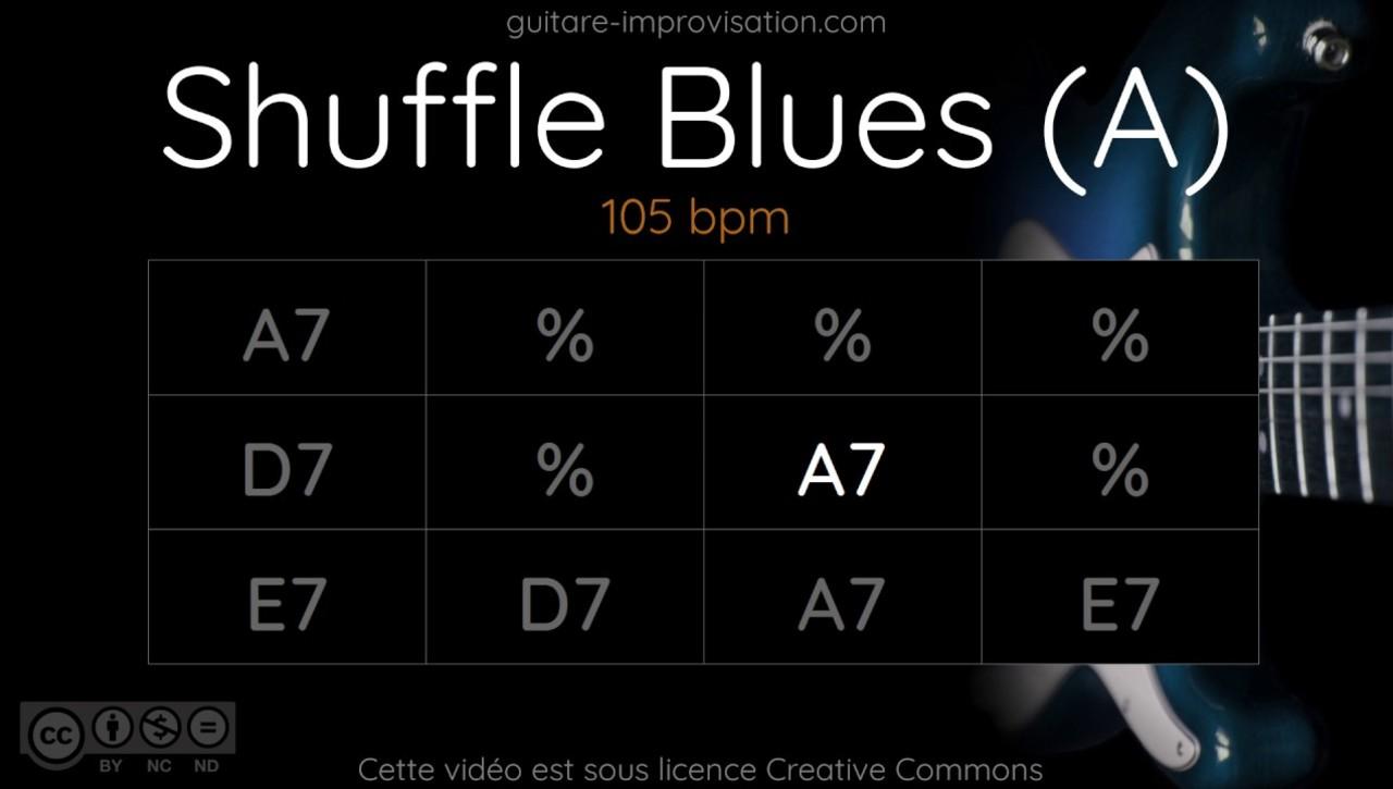 Blues Shuffle in A - Quiz