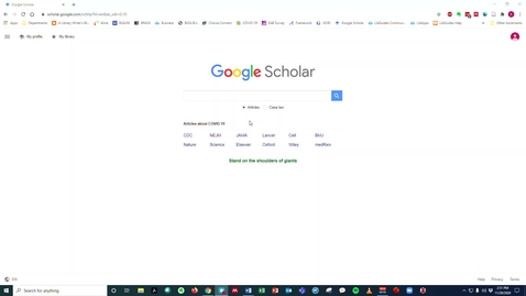 Thumbnail for entry BUS 245 -- International Organizational Behavior -- Google Scholar