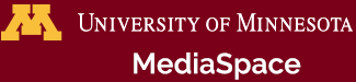University of Minnesota - MediaSpace