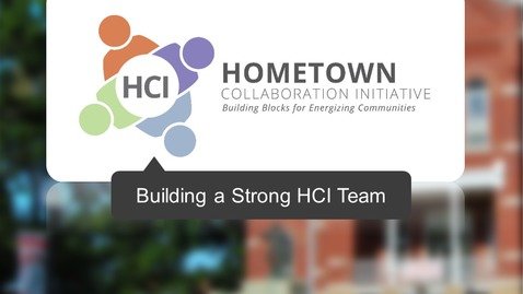 Thumbnail for entry Building a Strong HCI Team-Generation 5