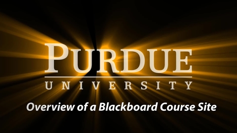 Thumbnail for entry Step 2 of 4 - Blackboard Self-Service Series (6:50)