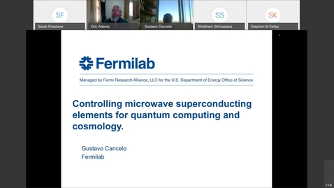 Thumbnail for entry RCAC Workshops-Controlling Microwave Superconducting Elements for Quantum Computing and Cosmology