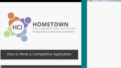 Thumbnail for entry How to Write a Competitive 2015 HCI Application