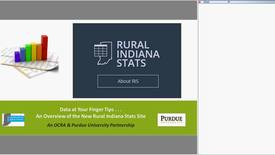 Thumbnail for entry An Overview of the Rural Indiana Stats Website