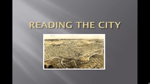 Thumbnail for entry Reading architecture HD