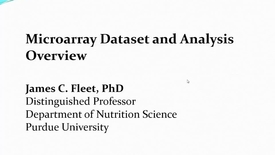 Thumbnail for entry Affy dataset overview for the Microarray exercise